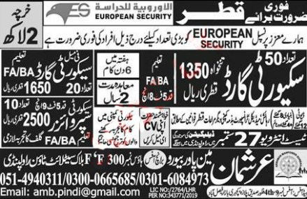 European Security Company Jobs 2019 in Qatar