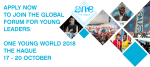 All Bar None Scholarship to attend One Young World Summit 2018 in The Hague, The Netherlands