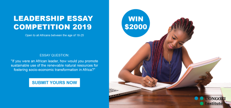US$2,000 UONGOZI Institute Leadership Essay Competition for Africans 2019