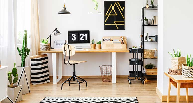 How To Transform A Small Area Into Your Work-from-home