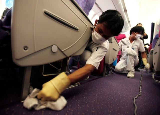 Aircraft Cleaning Agent