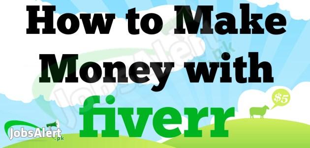 Earn Money Online Through Fiverr