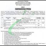 National Institute of Oceanography Jobs