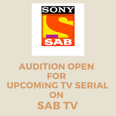 Casting call for SAB TV's new TV serial - Male and female actors