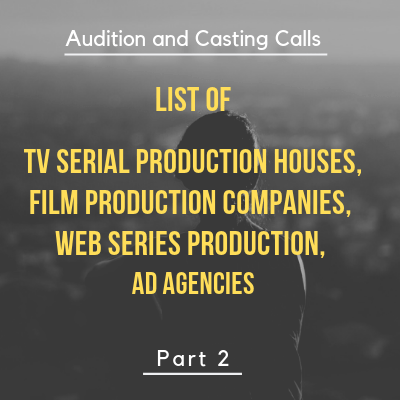 audition and casting calls for Bollywood movies