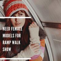 need female models for Ramp Walk Show mumbai