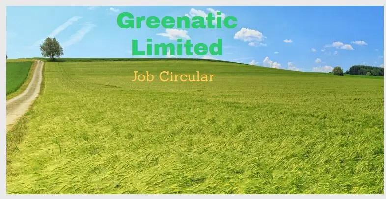 Greenatic job circular
