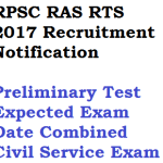 RPSC RAS RTS Exam 2018 Date Notification Recruitment Vacancy