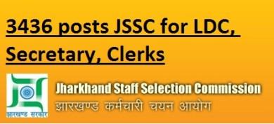 jssc LDC secretary 2016 cisce
