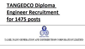 tangedco diploma engineer 2016