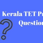 Kerala TET Previous Years Question Paper Download PDF MCQ Set