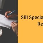 SBI Specialist Cadre Officer Recruitment 2018 Application Form