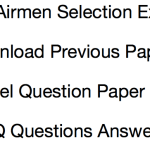 Airmen Previous Years Question Paper Group X Y Download Solved PDF