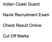 indian coast guard navik result 2017 2018 02/2018 merit list expected cut off marks publishing date check online general duty gd