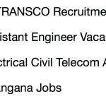 TSTRANSCO AE Recruitment 2018 Assistant Engineer Vacancy 330 Posts