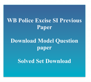 wb excise si admit card 2018 download exam date prelims written test hall ticket download west bengal