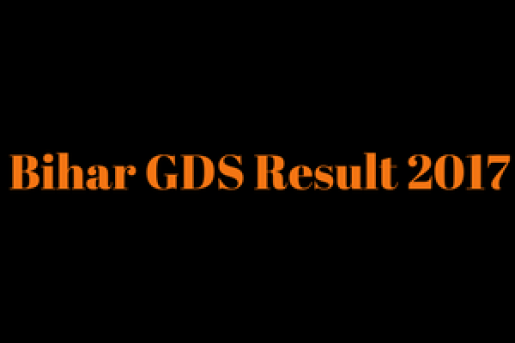 bihar gramin dak sevak result 2018 merit list bihar postal circle gds result publishing date 2018 expected cut off marks
