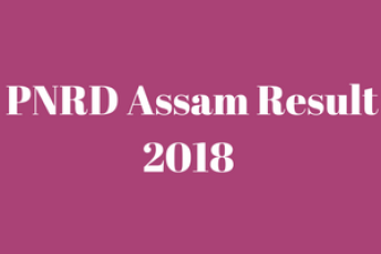 pnrd assam 2018 result check online panchayat department pnrdassam.in check online cut off marks merit list shortlist