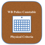 WB Constable Physical Eligibility Criteria Minimum Height Chest Required