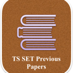 TS SET Previous Papers Download – Year Wise Old Question Paper PDF