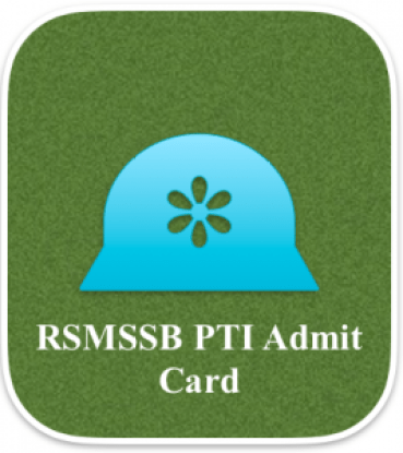 rsmssb pti admit card 2018 download hall ticket rajasthan physical training instructor hall ticket download