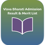 Visva Bharati Admission Merit List 2018 | Entrance Test Result UG PG Course