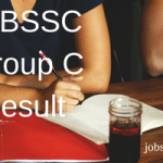 WBSSC Group C & D Result 2018 Clerk Junior Assistant Personality Test