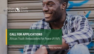 Photo of Apply to become African Youth Ambassadors For Peace Program 2019