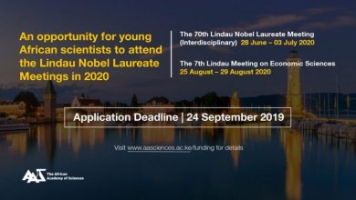 Photo of Call for Nomination for African Scientists to attend the 7th Lindau Meeting on Economic Sciences – Lindau, Germany