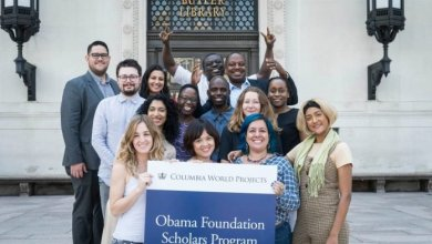 Photo of Obama Foundation Scholars Program 2020/2021 for emerging leaders to study at the University of Columbia