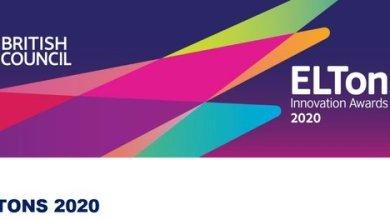 Photo of British Council ELTons Innovation Awards 2020