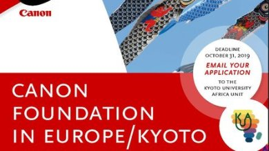 Photo of Canon Foundation-Kyoto University Japan-Africa Exchange Program 2020 (27,500 Euro per year in Funding)