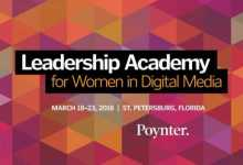 Photo of ONA-Poynter Leadership Academy 2020 Accelerator Program for Women in Digital Media – USA (Funded)