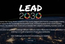 Photo of One Young World Lead2030 SDG Challenges ($500,000 in funding & 12 month programme of executive mentorship)