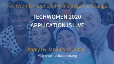 Photo of U.S Government TechWomen Emerging Leaders Program 2020 for Women in STEM to study in the United States of America