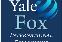 Photo of Yale Fox International Fellowship 2020 graduate student exchange program