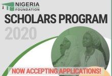 Photo of Nigeria Higher Education Foundation (NHEF) Scholars Program 2020