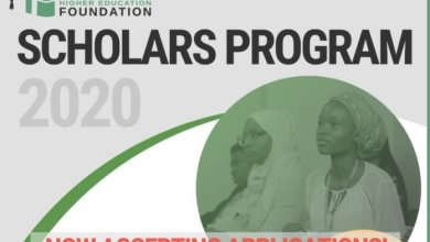 Photo of Nigeria Higher Education Foundation (NHEF) Scholars Program 2020