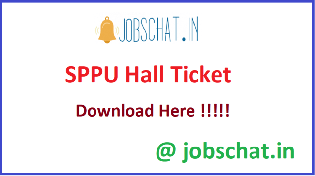 SPPU हॉल टिकट