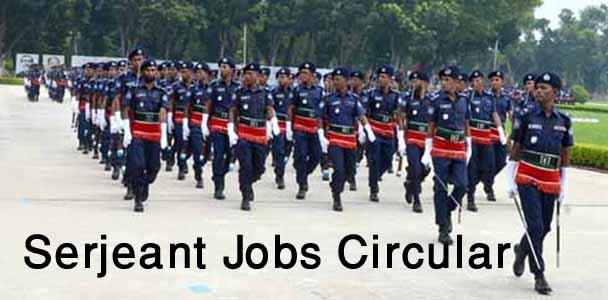 Bangladesh Police Sergeant Jobs Circular 2018