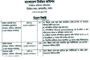 Bangladesh Election Commission Jobs Circular 2019
