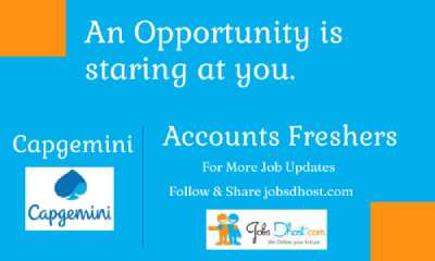 Freshers Capgemini Recruitment 2021