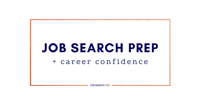 Facebook Cover - Job Search Prep and Career Confidence Group