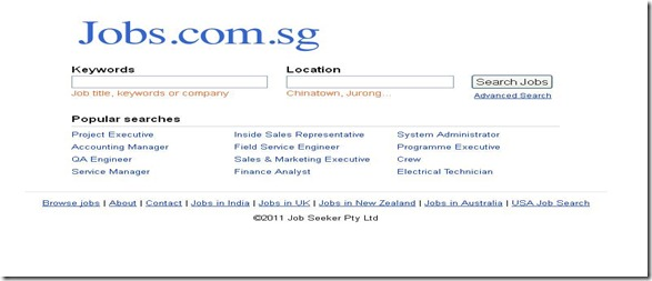 jobs searching sites