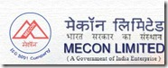 jobs in MECON through GATE exam 2013