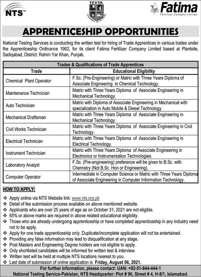 National Testing Service Pakistan NTS Jobs