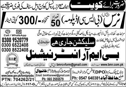 Kuwait Jobs 2021 Advertisement for Foreigners
