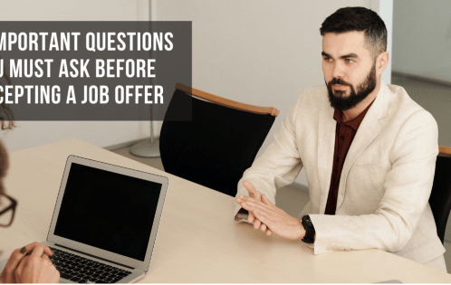5 Important Questions You Must Ask Before Accepting a Job Offer