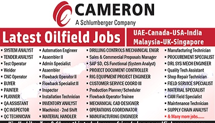 Oil and gas job vacancy in uae
