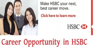 Career Opportunity in HSBC